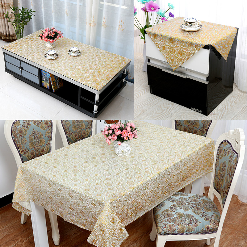 Get Quotations Refrigerator Coffee Table Cloth Cover Towel Small Tablecloths Bedside Cabinet Washing