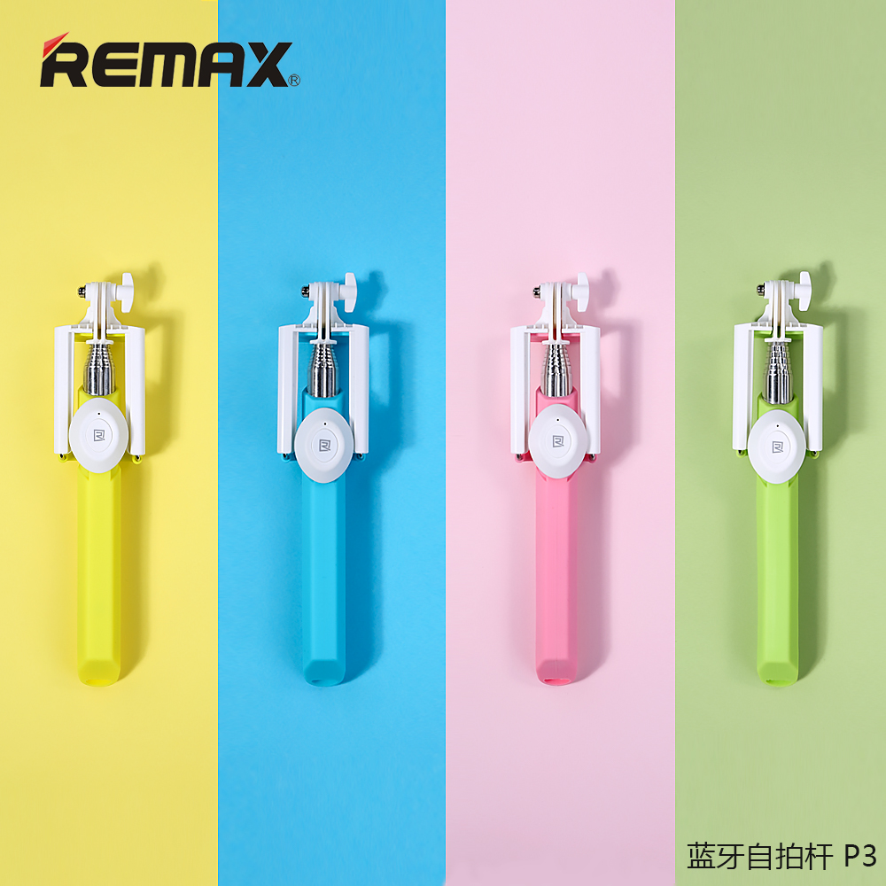 Remax darrick p3 wireless bluetooth camera artifact samsung android apple universal self self artifact rod