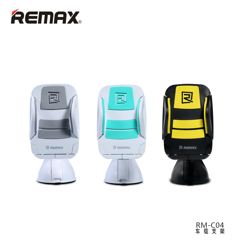 Remax RM-04 compact portable fashion cool car holder suction cup bracket car phone holder