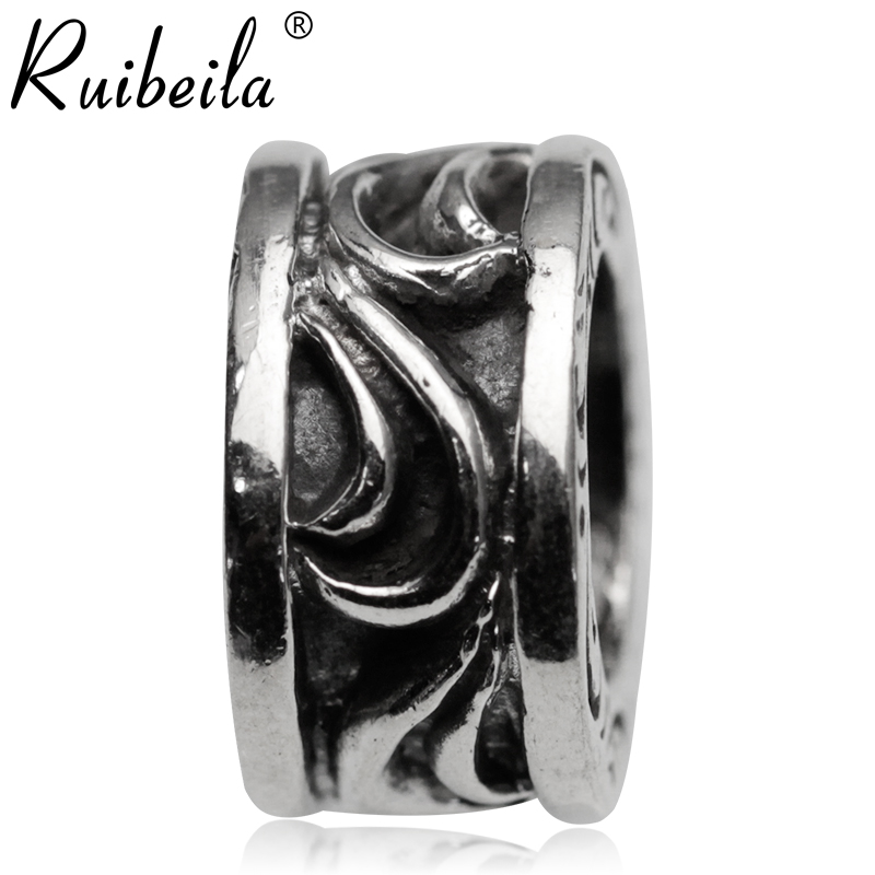 Retro arabesque ruibeila925 silver fine silver ring silver ring european and american fashion pendant necklace female punk boys paragraph