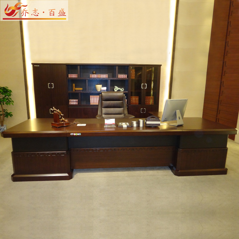 Retro new paint boss desk wood desk desk desk ceo dong things long table desk office furniture office furniture portfolio