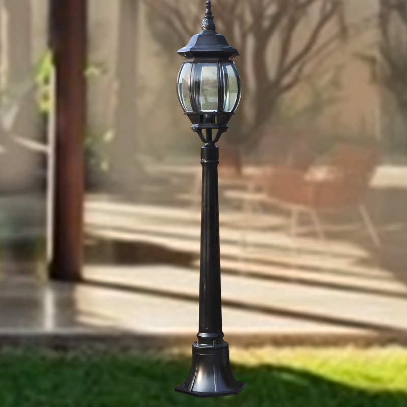 Retro outdoor garden lights led lawn light lawn lights garden lights road lights waterproof lights balcony patio lights small street