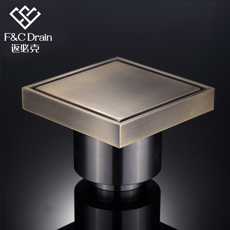 Return will grams bathroom shower drain floor drain odor entire copper invisible floor drain large flow of high end