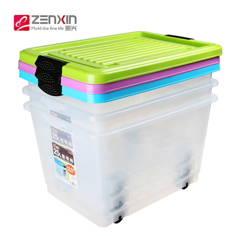buy revitalization of transparent plastic storage box toy storage box covered storage box large thick clothes toy storage box in cheap price on alibabacom - Toy Storage Boxes