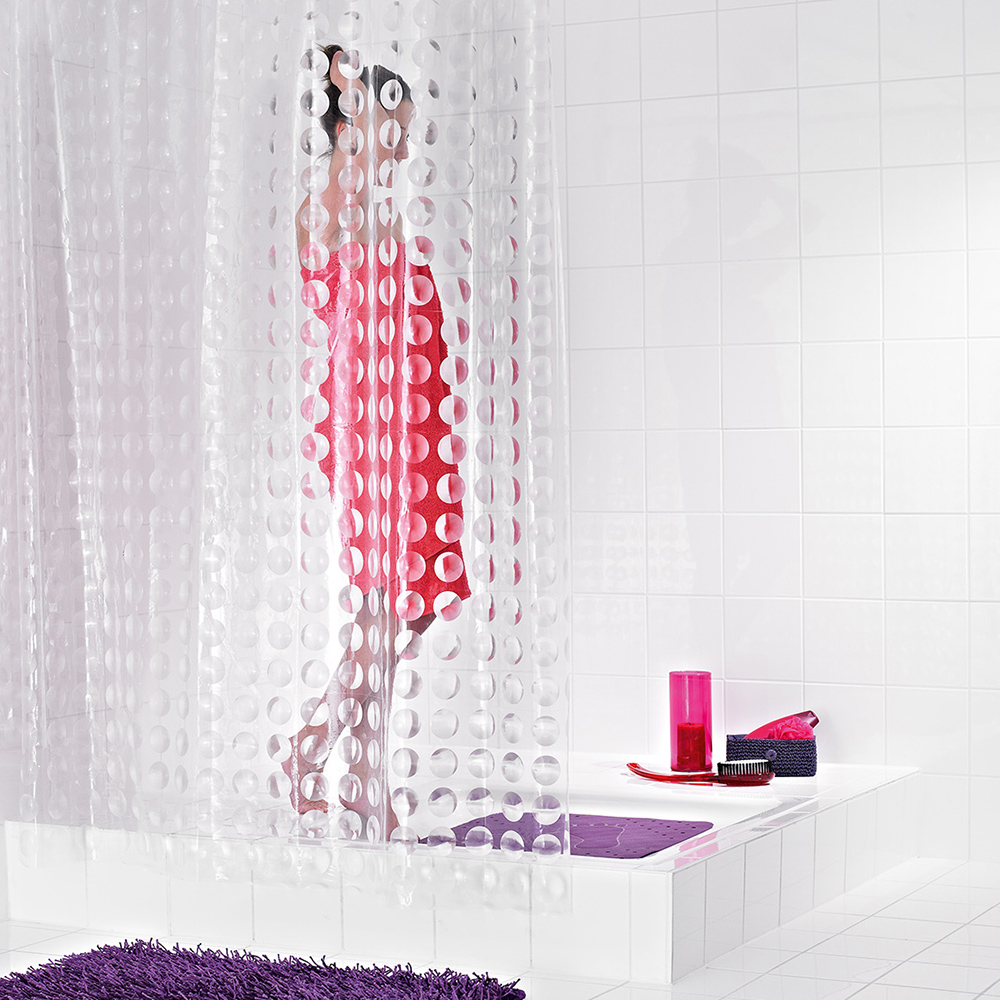 Ridder imported from germany transparent eva thick waterproof mildew shower curtain bathroom shower curtain cloth 35897