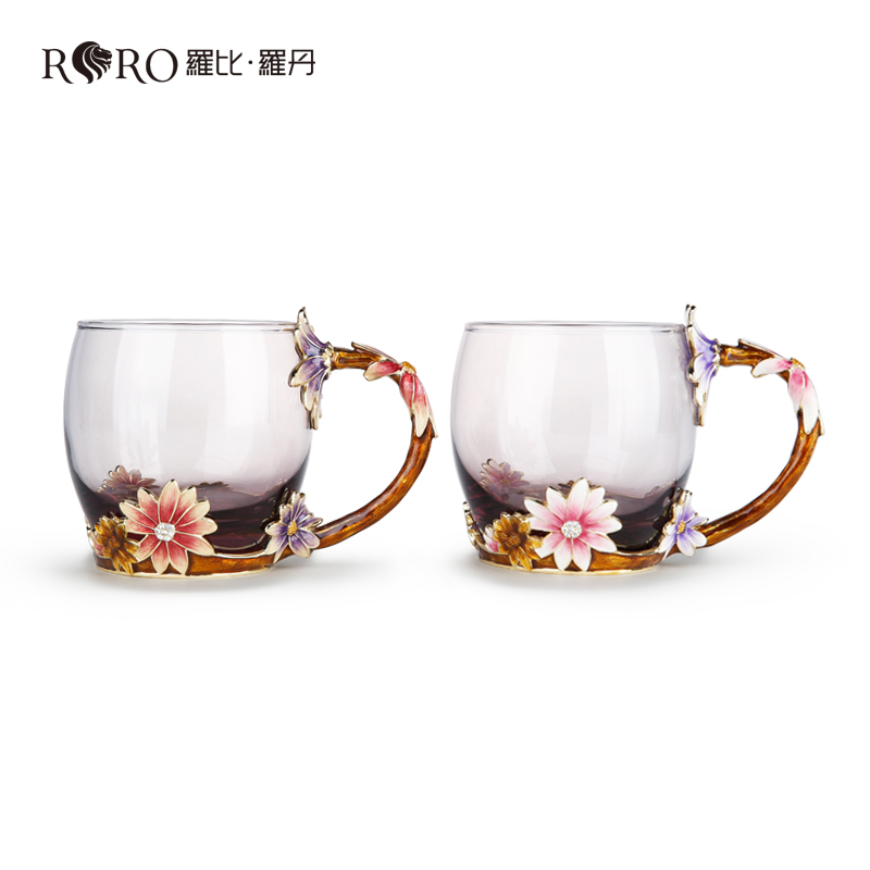 Robbie rodin in paris in March glass cups suit home decorations and creative personality couple cups cups cups