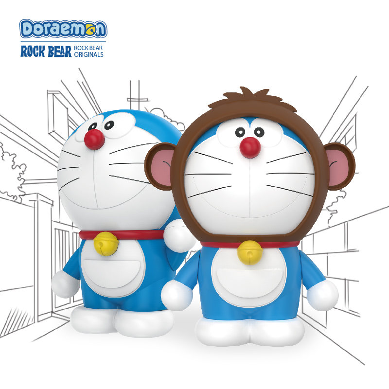 Rock twelve zodiac duo a dream doraemon cartoon cat mobile power 5800 mA universal charging treasure