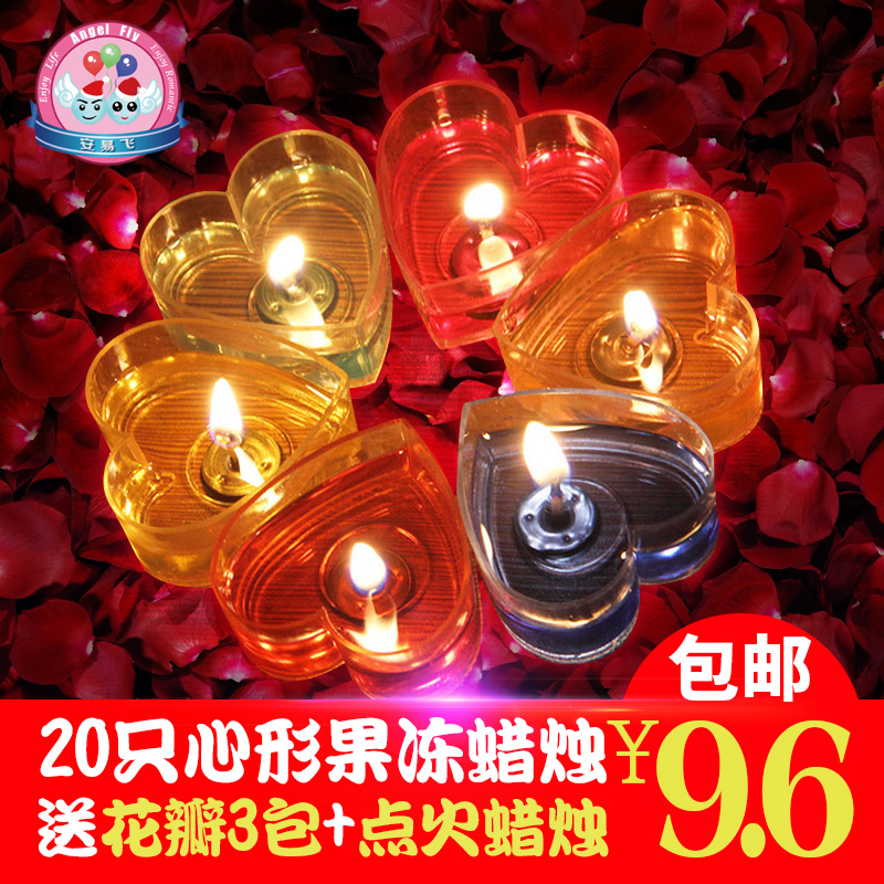 Rose soap flower soap flower jelly combo wedding supplies creative birthday candles romantic courtship confession props