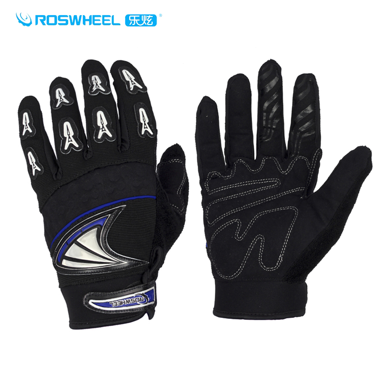 Roswheel le xuan missile series of autumn and winter running riding full finger gloves bike riding gloves warm cold