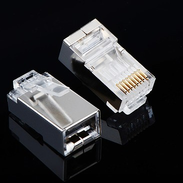 Router network crystal head crystal head rj45/rj11 telephone crystal head telephone line network cable crystal head