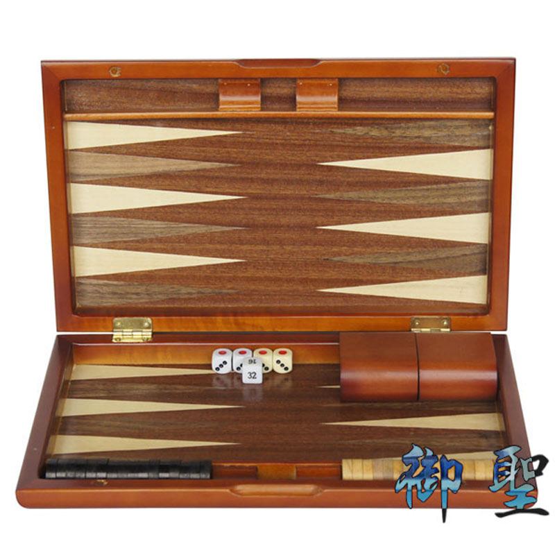 Royal st. ligneous baccarat chess backgammon suit 11 inch backgammon panax marine chess