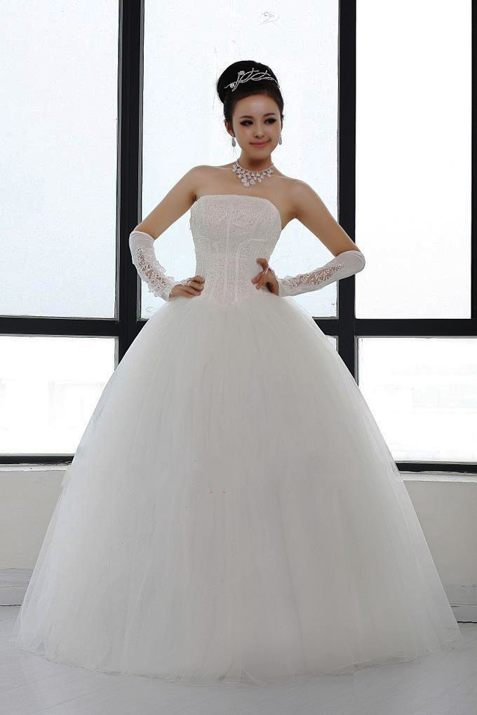 Ruifeng ling upscale bridal wedding dress out of yarn sequin flash diamond wedding dress tutu wedding dress 2016 new wedding dress straps