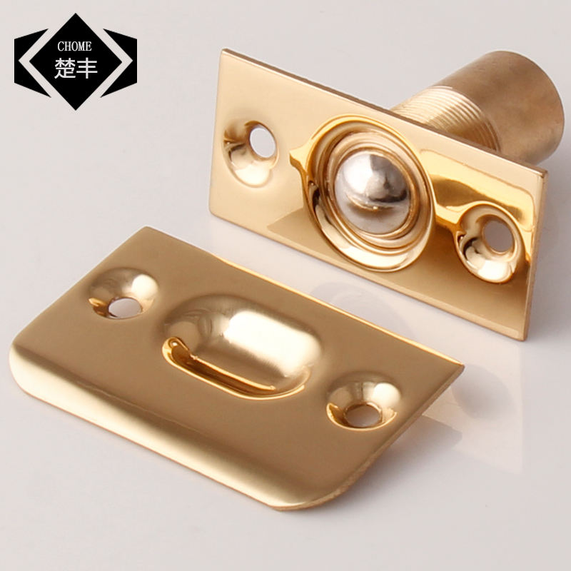Ryan copper door touch ktv special touch touch beads beads beads invisible door lock top bead spring touch touch touch beads beads locator