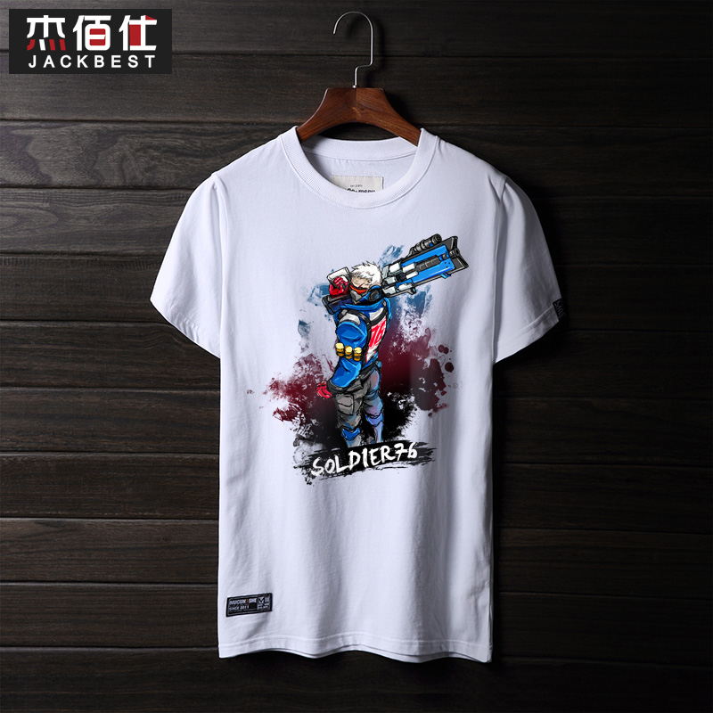 Rye pioneer blizzard 2016 summer youth t-shirt men round neck cotton bottoming shirt printing casual men's short sleeve
