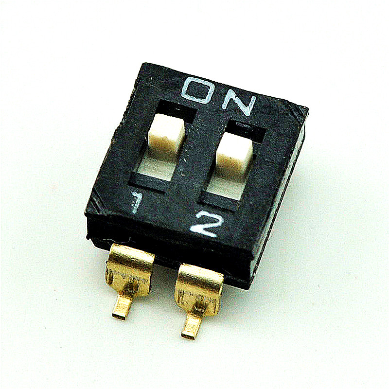 Sada cecectomized | 2 smd toggle switch 54mm away from the dip switch coding switch gold-plated (20 )