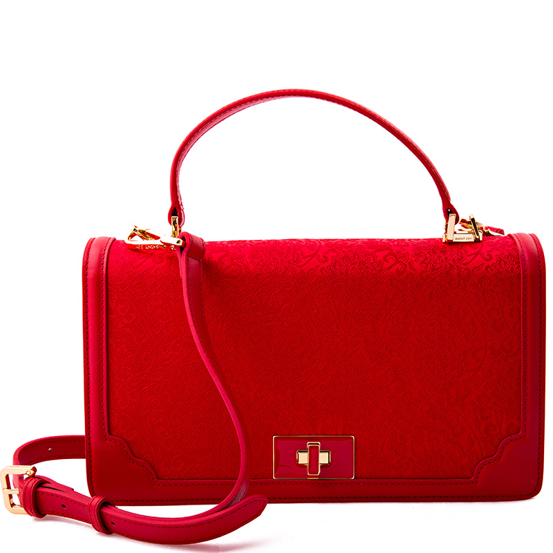Saintjoy/ms. song jin kai on long 2016 led red bag red scroll business gifts