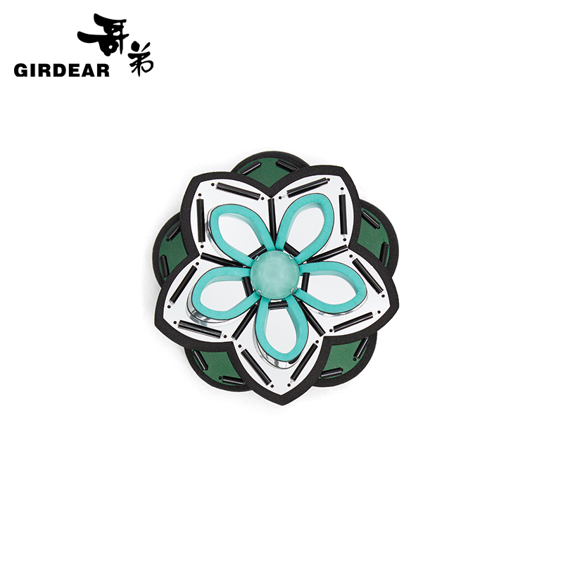 [Sale] a900 gedi women 2016 fall and winter clothes new three-dimensional flower brooch 004