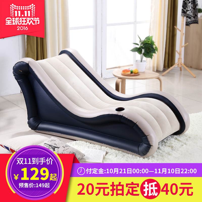 Get Quotations · [Sale] excellent wood beanbag single bedroom sofa small sofa recliner lazy inflatable sofa chair  sc 1 st  Shopping Guide - Alibaba & China Single Recliner Sofa China Single Recliner Sofa Shopping ... islam-shia.org