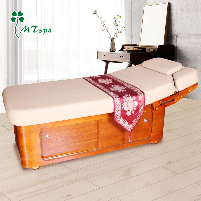 Sale of new wood mztspa advanced massage therapy bed spa beauty bed massage bed MD-63 02