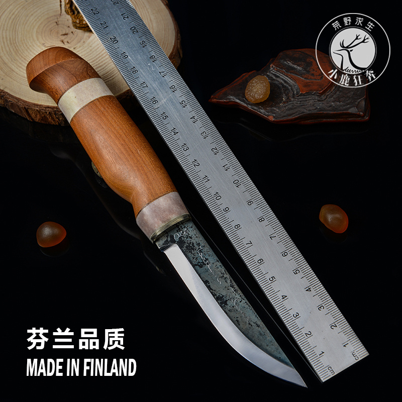 [Sale] soul limited number of reindeer classic finland marttiini knife small straight knife outdoor camping equipment