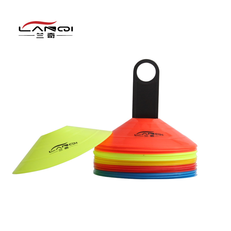 Samaranch logo plate dish flag football training equipment obstructions football training equipment training supplies
