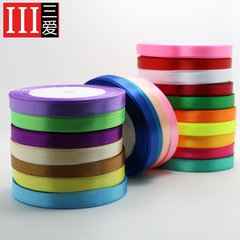 Sanai cecectomized 5cm wide packing tape ribbon ribbon ribbon polyester webbing ribbon roll cake gift packaging