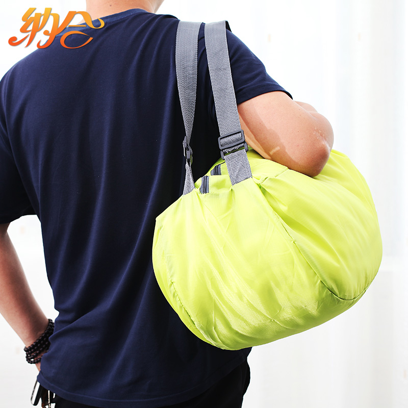 Satisfied that the combination storage multifunction transform collapsible shoulder bag shoulder bag korean version of messenger bag portable outdoor travel shoulder bag
