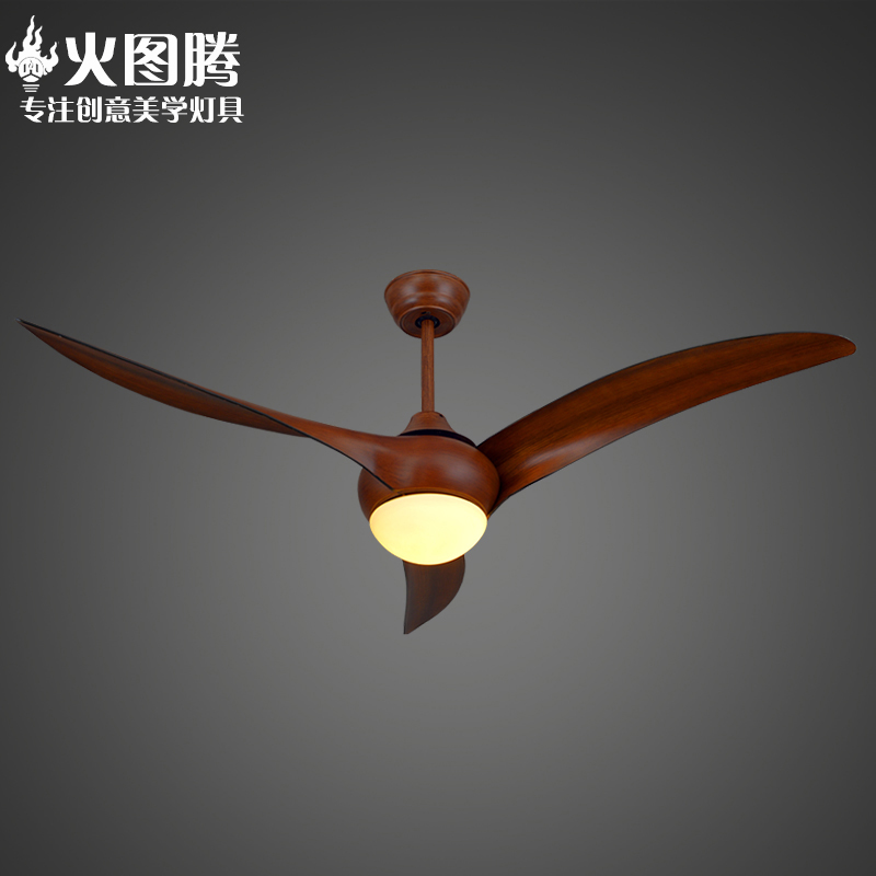 Scandinavian retro american country living room bedroom ceiling fan light fan lights with lights in led restaurant chandelier ceiling fan