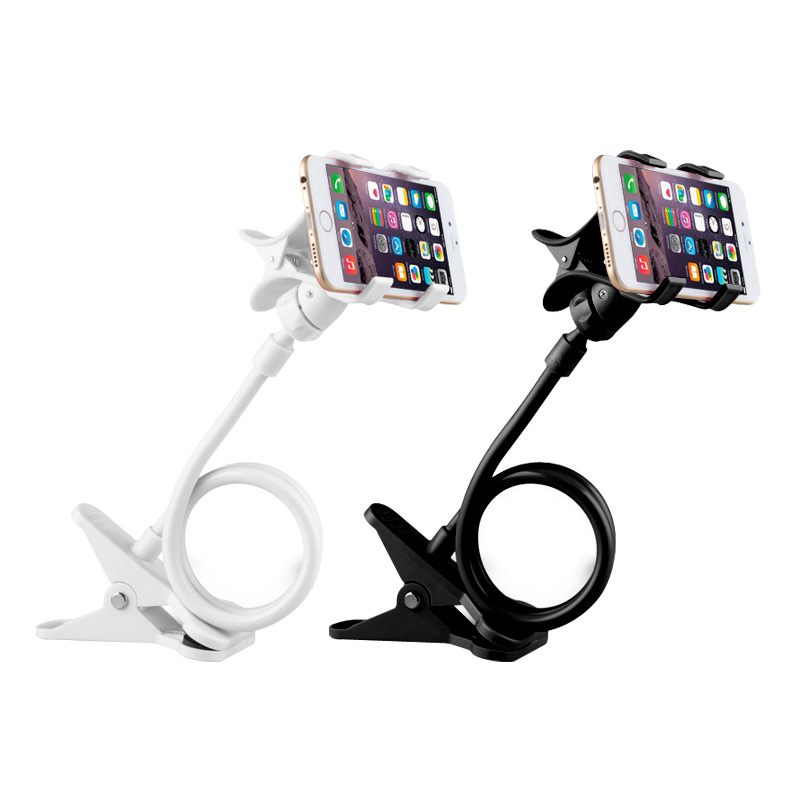 Scheduled imak apple iphone and other common millet lazy bedside phone holder bracket double clip