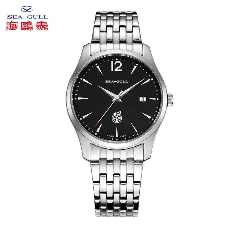Seagull seagull watches men really belt fashion business casual table luminous automatic mechanical watch men watch d51a series