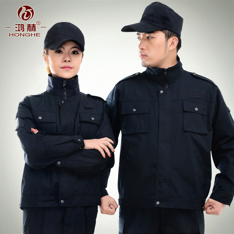 Security training uniform security uniforms suits spring and autumn security service training uniform security service security service suit