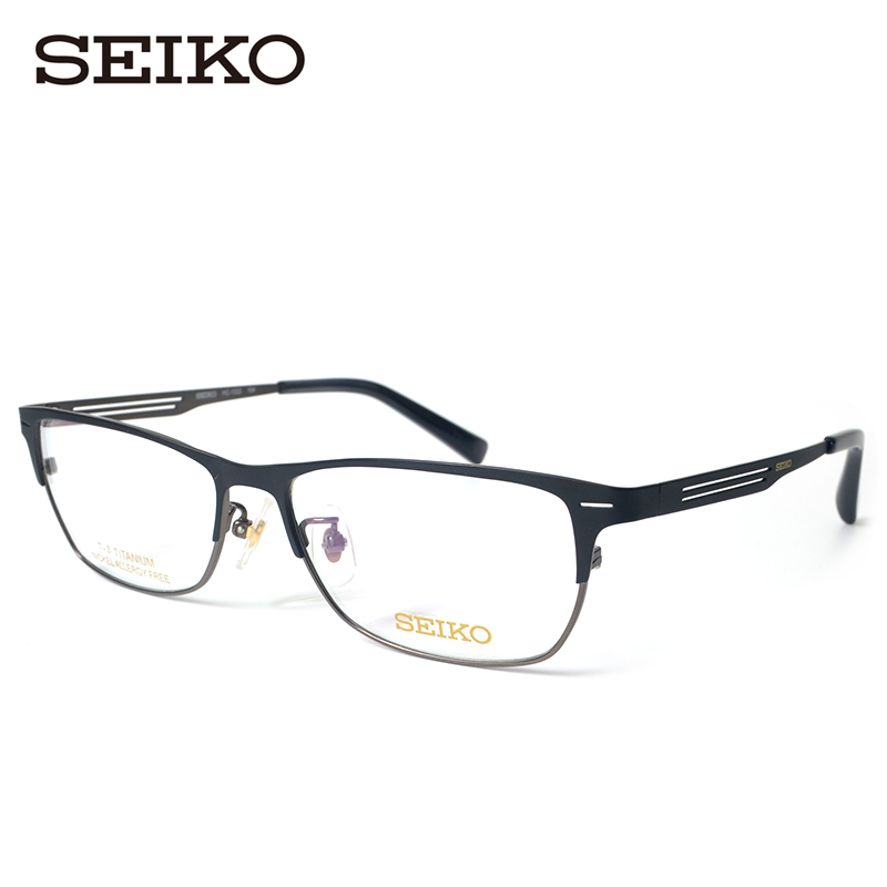 Seiko seiko HC1022 fashion business men titanium frames full rim frame glasses optical glasses frames myopia
