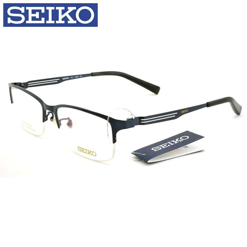 Seiko titanium frames myopia frame glasses male and female models eye glasses frame box frames HC1020