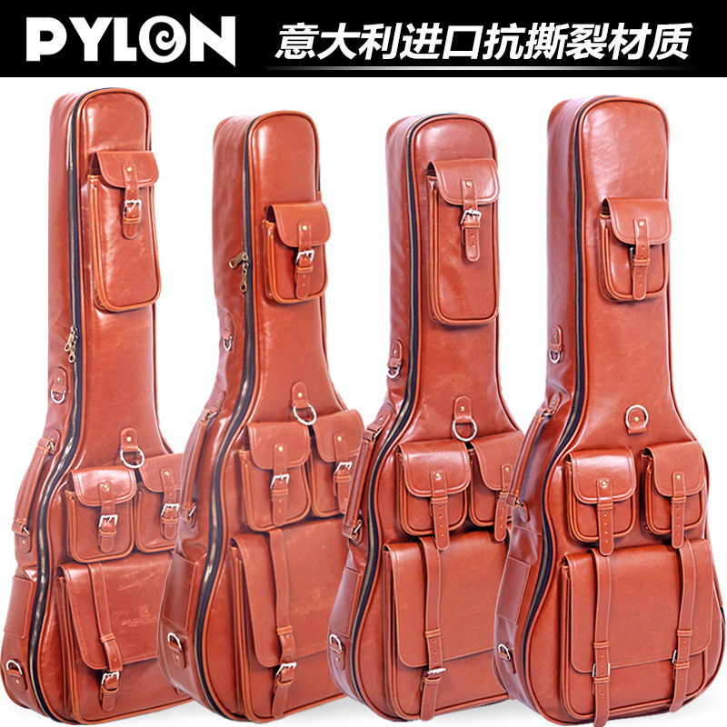Send lin pylon sponge luxurious thick waterproof bag guitar folk/electric guitar bass guitar bass piano package package package