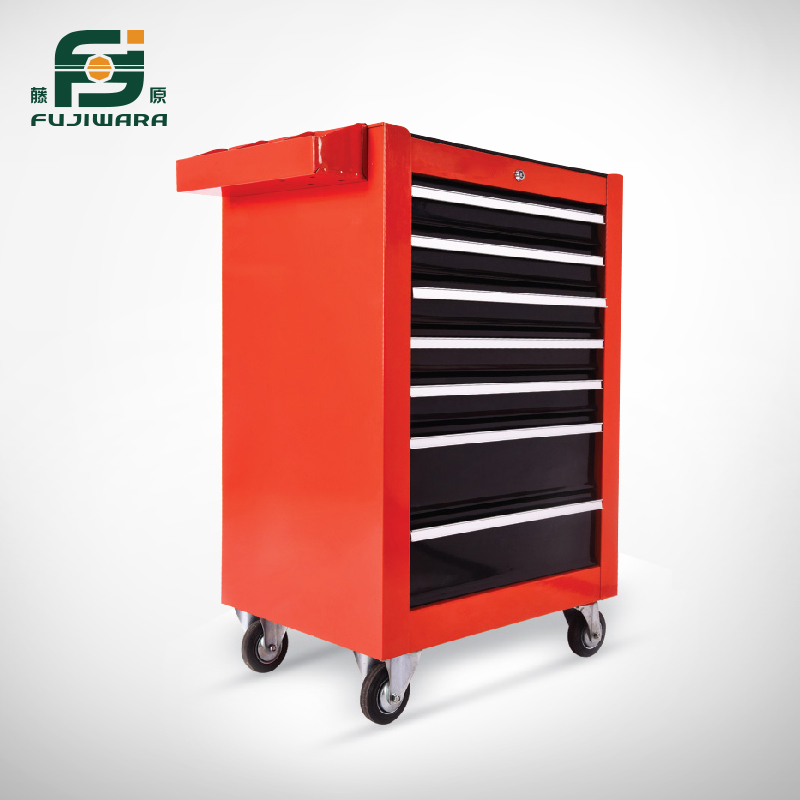 Seven layer metal tool trolley car three toolbox drawer tool cabinet mobile cabinet aftermarket tools Car