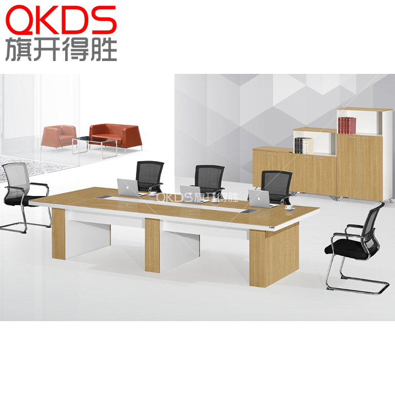 Shanghai furniture/fashion desk/modern minimalist large conference table/negotiating table factory outlets can be dismantled