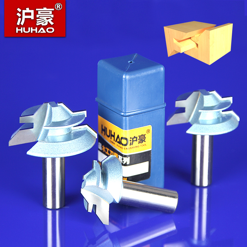 Shanghai hao woodworking tools bakelite milling engraving and milling cutter 45 degree angle of 90 degrees to fight tenon knife finger board Knife