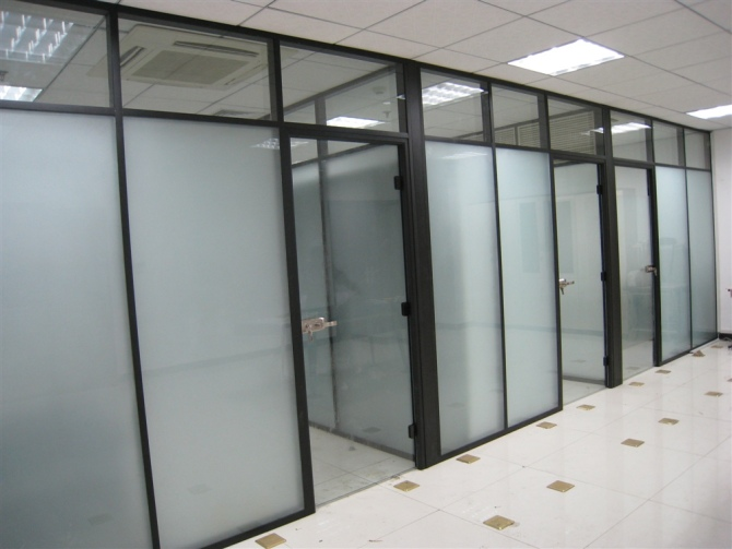 Shanghai office furniture 80 、 60 models of high partition office partition wall partition wall glass partition wall