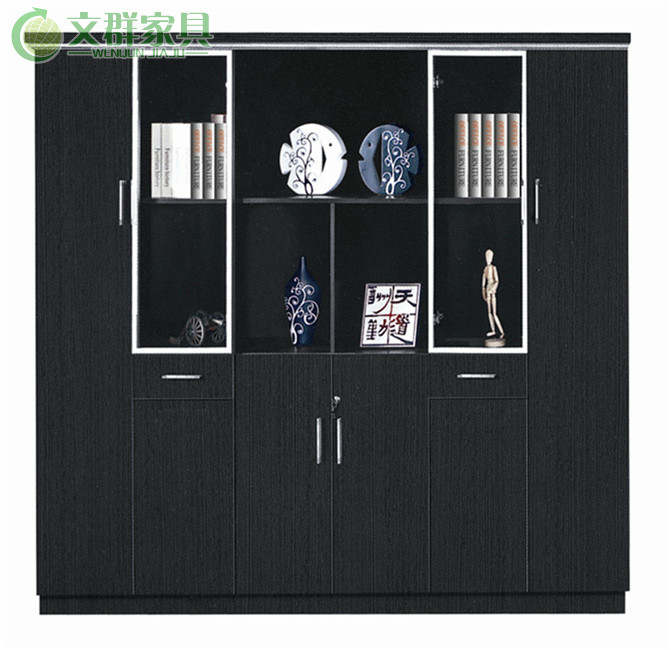 Shanghai office furniture file cabinet wood file cabinet file cabinet plate cabinet office furniture factory direct