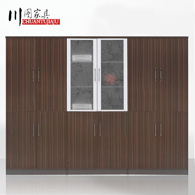 Shanghai office furniture lock high security cabinet file cabinet office cabinet file cabinet plate wooden wardrobe