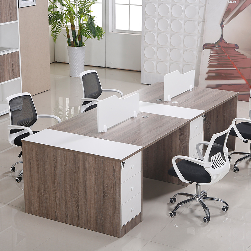 Shanghai office staff tables and chairs combination of stylish simplicity 4 bit wall panels shanghai office furniture desk staff