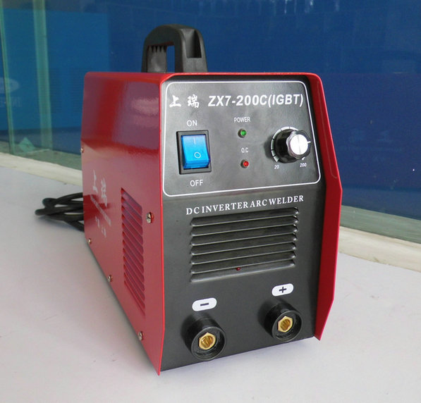 Shanghai production/on the swiss/inveter home portable small household electric welding machine welder welder zx7-200