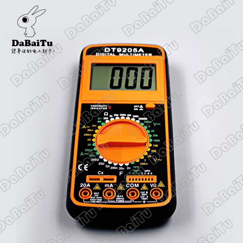 Shanghai sichuan instrument/leier da instrument digital multimeter digital multimeter rd9205a