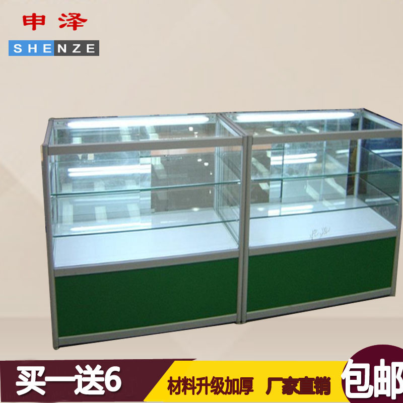 Shen josé medicine pharmacy counter pharmacy medicine cabinet glass display cabinet showcase glass counter medicine cabinet shelves