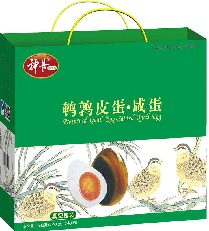 Shendan 76 10æhubei unleaded preserved egg quail eggs quail salted mixed welfare gifts factory direct shipping