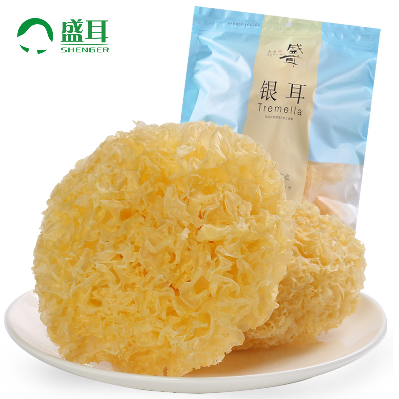 Sheng ear fungus fujian furuta waxy ear fungus white fungus white fungus fungus dry 200g buy 2 to send two kikurage