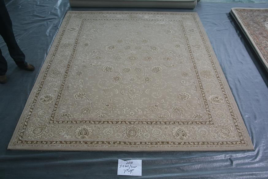 Sheng qini american classic european persian carpet beige department of imported new zealand wool carpets handmade carpets bayonet