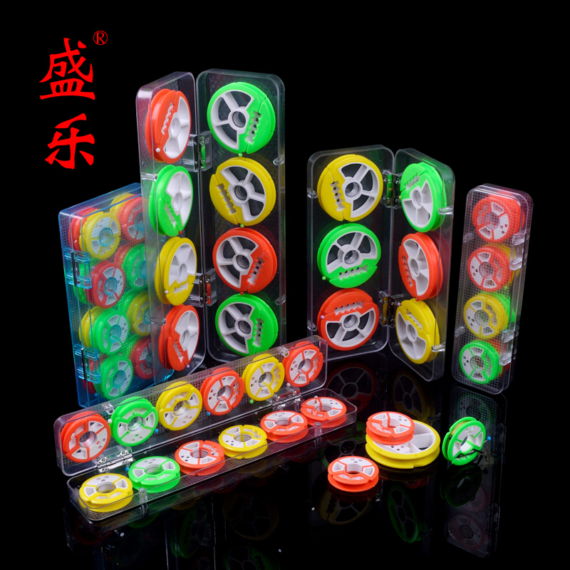 Shengle colorful taiwan fishing line group box main coil fishing fishing gear fishing supplies with two