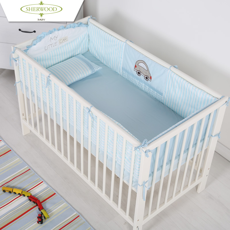 Get Quotations Sherwood Cartoon Baby Cotton Removable Fence Bed Curtain Around The Children S Beds By