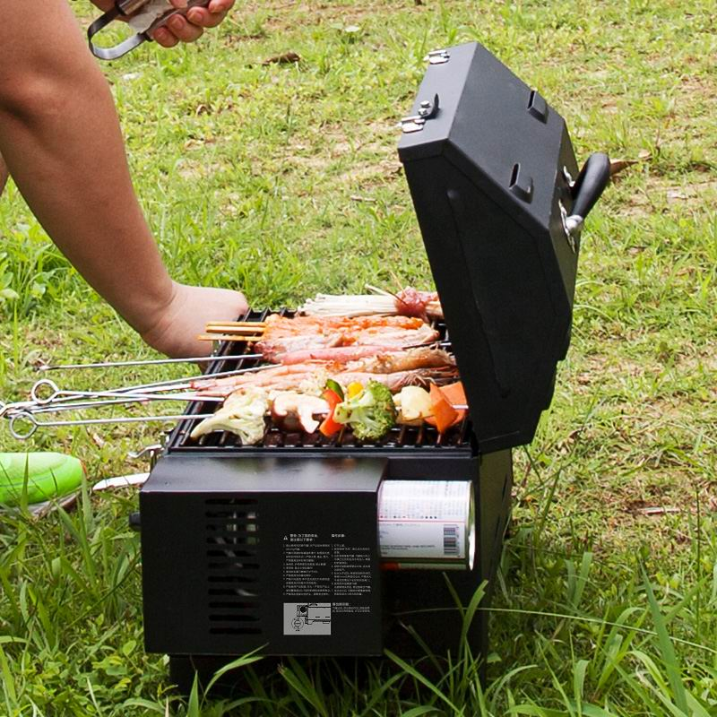 Best of Get Quotations · Shinerich outdoor picnic barbecue grill home portable car car trumpet cassette gas grill Fresh - Contemporary portable barbecue grill Simple